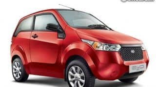 Mahindra Verito goes electric, to launch within a year.