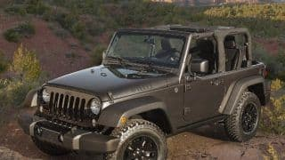 Jeep Wrangler Willys Wheeler edition is a modern classic