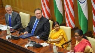 Inaugural 2+2 Dialogue Turns Fruitful, But US Yet to Clear on Sanctions Over Iranian Oil Import, S-400 Deal With Russia