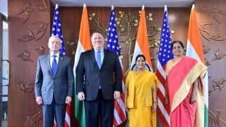 In First 2+2 Dialogue, India, US Call on Pakistan Over Terrorism; Sign Military Communication Pact, Promise to Speed up New Delhi's NSG Bid