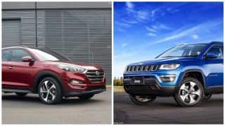 Hyundai Tucson VS Jeep Compass - Comparison: Price in India; Specs, Features, Dimensions