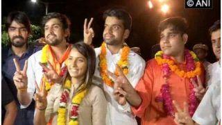 दिल्ली यूनिवर्सिटी छात्रसंघ के नए अध्यक्ष की डिग्री को NSUI ने बताया फर्जी, ABVP ने कहा- बेबुनियाद आरोप