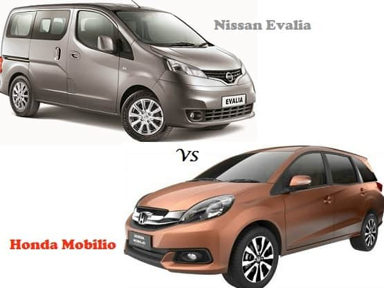 Comparison Honda Mobilio Vs Nissan Evalia Compare Price Technical