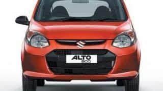 2015 Maruti Alto 800 Facelift to launch in December: To offer better fuel efficiency