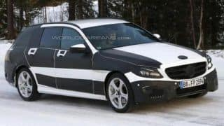 Spied: 2015 Mercedes Benz C-Class Estate
