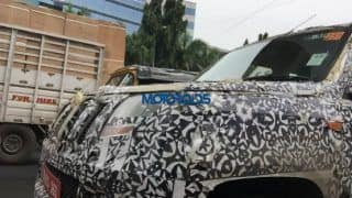 Mahindra U301 spotted while testing: Get latest picture and specifications