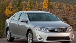 2012 Toyota Camry to be launched in August 2012