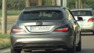 Mercedes-Benz CLA Class Facelift Spotted testing: Get latest images and specifications