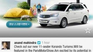 Mahindra SsangYong Korando Turismo / Rodius spotted testing in India