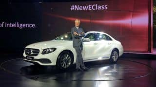 Mercedes Benz E Class 2017 (long wheel base) priced at INR 56.15 lakh in India