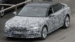 Audi A7 facelift shows up for the first time; Features Matrix LED headlamps