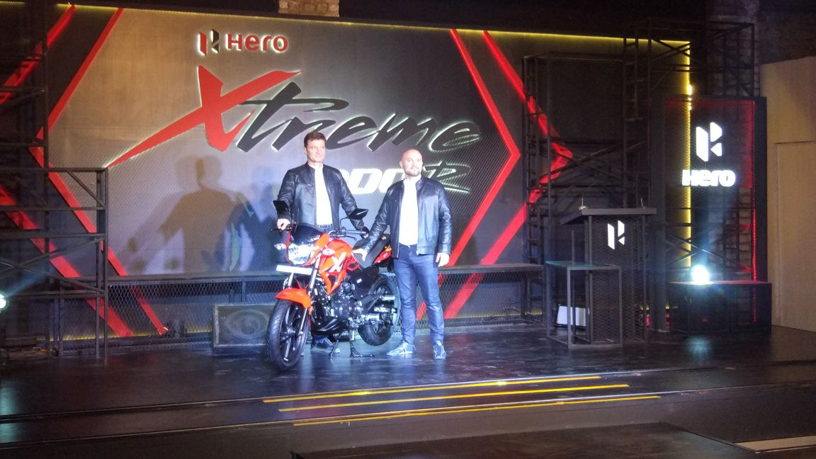 LIVE Updates: Hero Xtreme 200R Unveiled in India: Images, Price in India, Top-Speed, Colours & Mileage