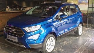 New Ford EcoSport 2017 Facelift Launched; Price in India Starts from INR 7.31 lakh