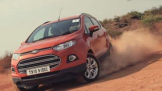 Ford India stops taking bookings of select EcoSport variants