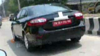 Scoop! Renault Fluence undergoing final tests