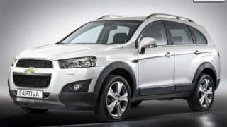 New 2012 Chevrolet Captiva facelift launched for Rs 18.74 lakh