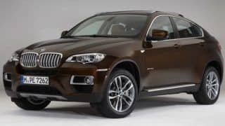 Live - 2013 BMW X6 Facelift launch in India