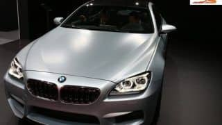 2013 NAIAS: BMW M6 Gran Coupe showcased