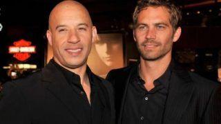 Actor Vin Diesel dedicates Universal Studio's Fast & Furious ride to Paul Walker