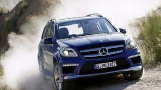 2012 Mercedes Benz GL-class official images leaked
