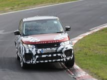 Scoop Video: Land Rover continues testing the Range Rover Sport RS on the Nubrurgring