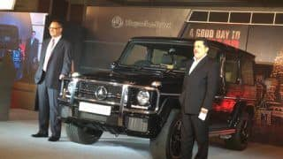 2013 Mercedes Benz G63 AMG launched in India at Rs 1.46 crore