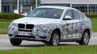 Production-spec BMW X4 spied for the first time