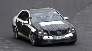 2013 Mercedes-Benz E63 AMG caught lapping the Nurburgring