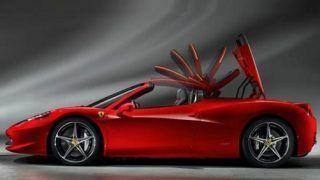Ferrari 458 Italia goes topless