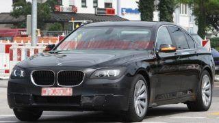 2012 BMW 7-series caught on test