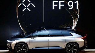 CES 2017: Faraday Future FF 91 electric car showcased; Will rival Tesla