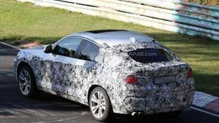 BMW X4 caught on test on the Nurburgring; Could launch early next year