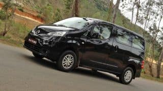 Nissan Evalia launched in Mumbai; priced at Rs 8.49 lakh