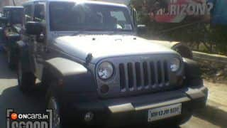 Scoop! Jeep Grand Cherokee and Jeep Wrangler spotted in Pune