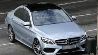 2014 Mercedes Benz C-Class fully uncovered