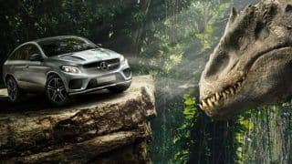 Mercedes-Benz explores the Jurassic World in the upcoming movie