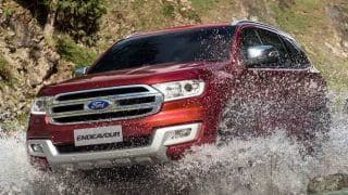 Ford Endeavour price in India hiked by INR 2.85 lakh