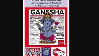 रिपब्लिकन पार्टी ने भगवान गणेश को लेकर दिया था विज्ञापन, विवाद होने पर मांगी माफी