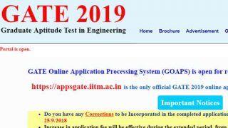 GATE 2019 Admit Card: appsgate.iitm.ac.in पर हॉल टिकट जारी, ऐसे करें डाउनलोड