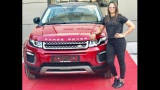 Geeta Phogat Buys New Land Rover Range Rover Evoque