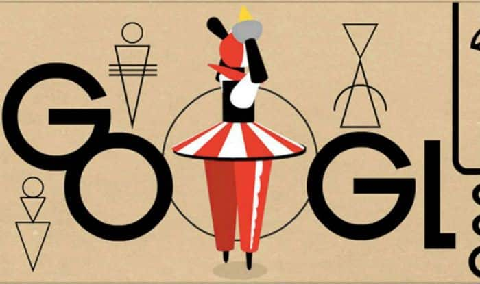 Google celebrates Oskar Schlemmer's 130th birthday with doodle
