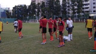 Confident India Take on Maldives in SAFF Cup Football