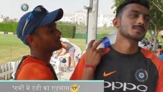 Asia Cup 2018 India vs Pakistan: Team India Cope Up With The Heat in Style in Dubai---Watch Video