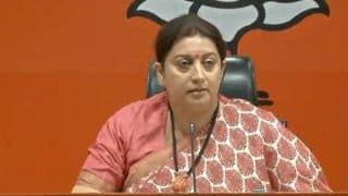 Congress Exposed in National Herald Case, Raghuram Rajan's Statement Proves Party Responsible For Bad Loans: Smriti Irani