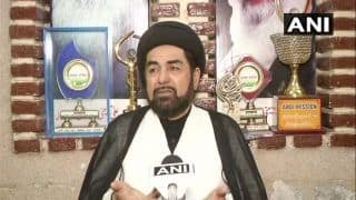 Shia Cleric Maulana Kalbe Jawad Welcomes RSS Chief Statement on Pluralism, Unity