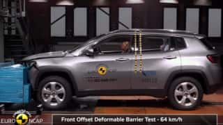 Jeep Compass Gets Maximum 5-star Safety Ratings at Euro NCAP Crash Test
