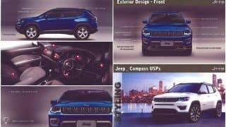 Jeep Compass 2017 official 53-page brochure leaked; Price in India likely to start from 18 lakh
