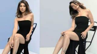 Bepannah Fame Zoya Siddiqui Aka Jennifer Winget Slays in Hot Black Dress in Latest Photoshoot, Check Sexy Pictures Here