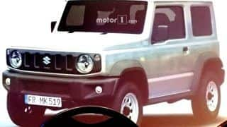 Suzuki Jimny 2018 Exterior, Interior Images Leaked; Could Launch in India as Maruti Gypsy Replacement