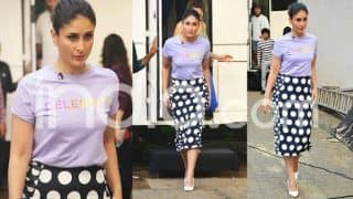 Kareena Kapoor Khan Officially Declares Her Star-Status by Wearing a 'Celebrity' Printed t-Shirt in a Way Only Bebo Can; See Pics